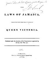 The Acts of Jamaica Passed in the Year ...