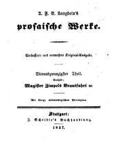 Prosaische Werke: Magister Zimpels Brautfahrt [u.a.], Band 24