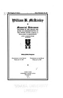 William B  McKinley PDF