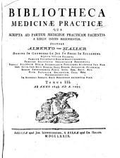 Bibliotheca medicinæ practicæ qua scripta ad partem medicinæ practicam facientia a rerum initiis ... recensentur: Ab anno 1648 ad A. 1685