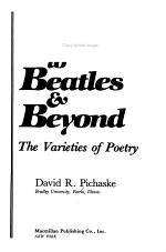 Beowulf to Beatles & Beyond