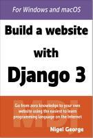 Build a Website With Django 3 PDF