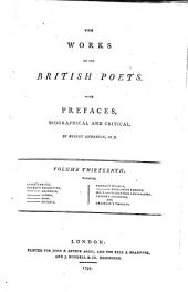 The Works of the British Poets: With Prefaces, Biographical and Critical, Volume 13