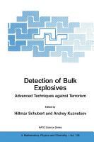 Detection of Bulk Explosives Advanced Techniques against Terrorism PDF