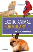 Exotic Animal Formulary   E Book PDF