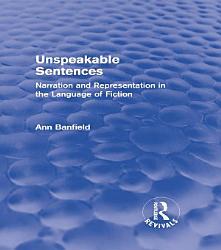 Unspeakable Sentences  Routledge Revivals  PDF