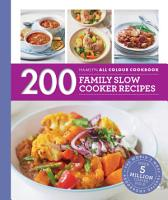 Hamlyn All Colour Cookery  200 Family Slow Cooker Recipes PDF