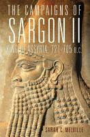 The Campaigns of Sargon II  King of Assyria  721   705 B C  PDF