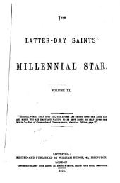 The Latter-Day Saints' Millennial Star: Volume 40