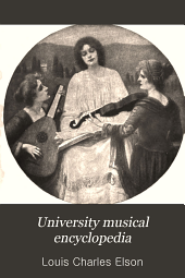 University Musical Encyclopedia: The theory of music and piano technique