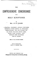 The Comprehensive Concordance to the Holy Scriptures PDF