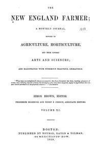 The New England Farmer Book