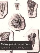 Philosophical Transactions: Volume 138