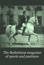 The Badminton Magazine of Sports & Pastimes
