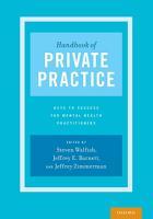 Handbook of Private Practice PDF