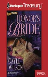 Honor's Bride