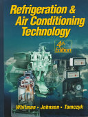 Refrigeration Air Conditioning Technology Book PDF