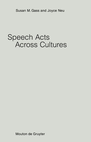 Speech Acts Across Cultures
