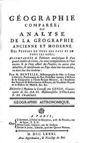 Géographie astronomique
