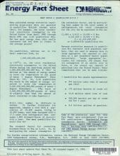 Energy Fact Sheet PDF