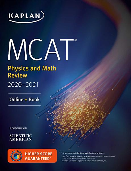 Mcat Physics And Math Review 2020 2021