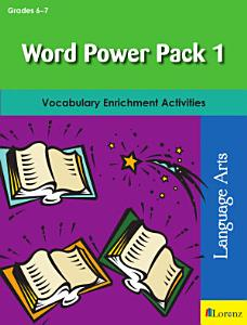 Word Power Pack 1 for Grades 6 7 PDF