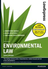 Law Express: Environmental Law 2nd edn: Edition 2