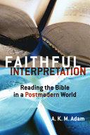 Faithful Interpretation PDF