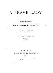 A Brave Lady PDF