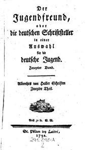 """""""Albrechts von Haller"""" Schriften: Zweyter Theil. Zweyter Band, Volume 2"""