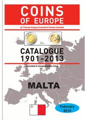Coins of MALTA 1901-2014: Coins of Europe Catalog 1901-2014
