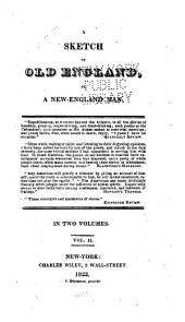 A Sketch of Old England: Volume 2
