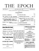 Epoch PDF