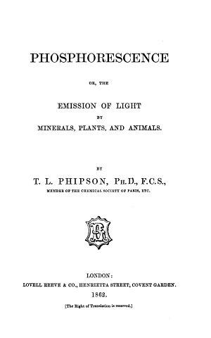 Phosphorescence