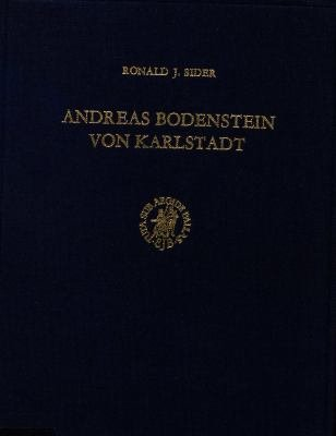 Andreas Bodenstein Von Karlstadt