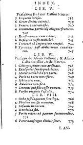 Questiones naturales, et ; M. Annæi Senecæ Opera, que extant: 3