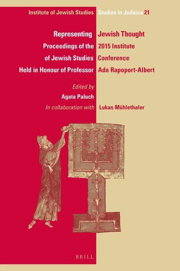 Representing Jewish Thought PDF