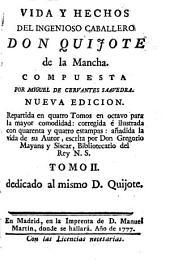 Vida y hechos del ingenioso caballero Don Quijote de la Mancha: Volumen 2