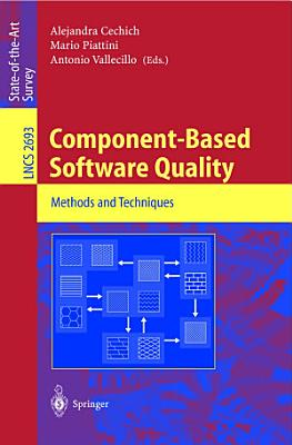 Component Based Software Quality PDF