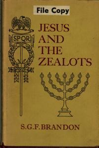 Jesus and the Zealots Book