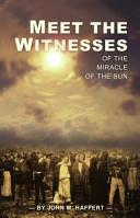Meet the Witnesses PDF