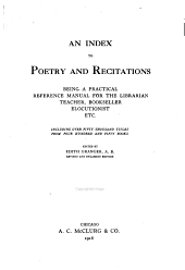 An Index to Poetry and Recitations PDF