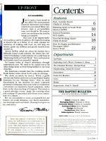 The Baptist Bulletin PDF