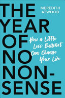 The Year of No Nonsense Book