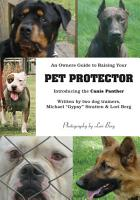 An Owner s Guide to Raising Your Pet Protector PDF