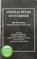 Federal Rules of Evidence  with Faigman Evidence Map  2019 2020 Edition PDF
