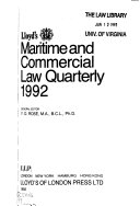 Download Lloyd s Maritime and Commercial Law Quarterly Book