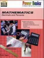 Decimals and Percents PDF
