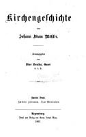 Kirchengeschichte  Zweiter Zeitraum  Das Mittelatlter PDF