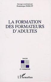 LA FORMATION DES FORMATEURS D'ADULTES